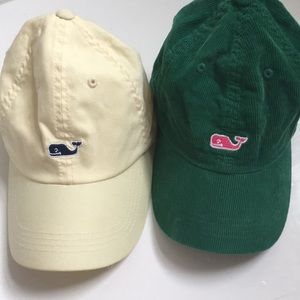 TWO vineyard vines hats